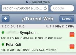 uTorrent Adds Great iPhone and Android Remote Torrent Control