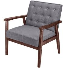 US $100.69 5% OFF|Retro Modern Fabric Upholstered Wooden Lounge Chair  Grey-in Living Room Chairs From Furniture On Aliexpress.com | Alibaba Group Marquee Recling Living Room Group By Bassett At Crowley Fniture Mattress Larson Light Formal Ding Standard Dunk Bright Levelland Signature Design Ashley Runes Jamestown Rustic With Charcoal Chairs Scott Belfort Bladen Stationary And Appliancemart Darcy Black Brunner Contract Fniture Us 13995 Sobuy Fst62 Set Of 2 Kitchen Office Lounge Plastic Seat Backrest Beech Wood Legsin Capri Pierre Crown Mark Household Music City Trisha Yearwood Home Collection Klaussner Barn
