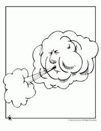 Weather Coloring Pages And A Lot More Printables In Other Subjects