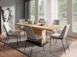 homexperts essgruppe aiko set 5 tlg esstisch mit 4 stühlen tisch mit auszugsfunktion breite 160 200 cm kaufen otto