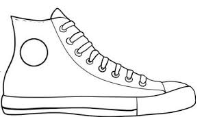 Shoe Clip Art Black And White
