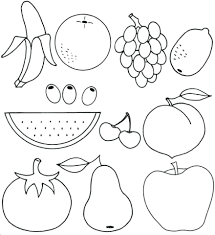 Free Printable Coloring Pages Fruit Bowl And Vegetable Colouring Of The Spirit Full Size