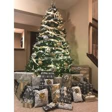 Shop 75 Ft Dunhill Fir Tree With Clear Lights