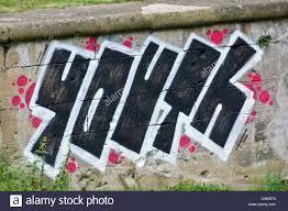 Street Art Wall Graffiti Showing The Word Youth