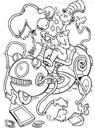 Free Coloring Ca Website Picture Gallery Cat In The Hat Pages