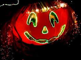 Fiber Optic Halloween Decorations by Halloween Fiber Optic Pumpkin Jackolantern Head Witch U0027s Hat Straw
