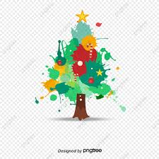Png Christmas Tree Vector Material Tree Clipart Christmas Tree