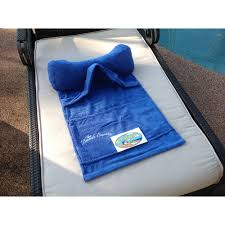Terry Cloth Lounge Chair Covers With Pillow by Beach Pillows Beach Towel With Pillow