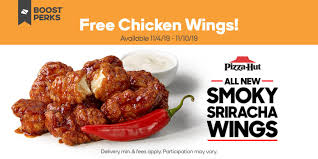 Get Your Hands On Free Pizza Hut Bone-Out Wings With Boost ... Wings Pizza Hut Coupon Rock Band Drums Xbox 360 Pizza Hut Launches 5 Menuwith A Catch Papa Johns Kingdom Of Bahrain Deals Trinidad And Tobago 17 Savings Tricks You Cant Live Without Special September 2018 Whosale Promo Deals Reponse Ncours Get Your Hands On Free Boneout With Boost Dominos Hot Wings Coupons New Car October Uk Latest Coupons For More Code 20 Off First Online Order Cvs Any 999 Ms Discount