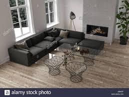 100 Modern Minimalist Decor Decor In A Modern Living Room With A Large Dark