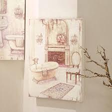 deko dekoration bild gemälde für badezimmer vintage landhaus