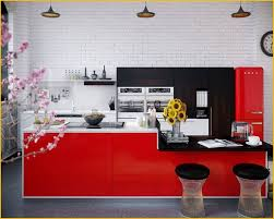 20 Ravishing Red Themed Kitchen Designs Ideas
