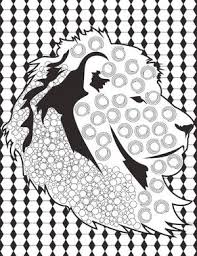 With This Lion Coloring Book Page You Can Show Off Your Skills Pride