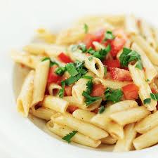 penne au poulet gorgonzola et tomates cerises cuisine