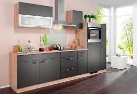 wiho küchen küchenzeile montana mit e geräten breite 290 cm kaufen otto