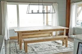 Ana White Headboard Bench by Ana White Beginner Farm Table 2 Tools 50 Lumber Diy Projects