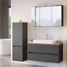moderne badmöbel kombination noricas 3 teilig