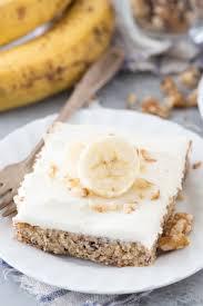 Banana Nut Bars