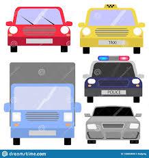 100 Auto Truck Transport Set Vector Art Stock Illustration Illustration Of