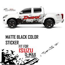 MATTE BLACK COLOR STICKER COVER DECAL VINYL 4 DOOR FOR 2012-14 ISUZU ... Trokiando Pemex Decals For Chevy Gmc Ford Trucks Stickers 1399 For Set Of Ford Raptor Truck Side Bed Die Cutvinyl Decals Ranger Sticker Kit Swage Decal Vinyl Wrap Black Free Shipping 1pc Hood Bonnet Wars Bantha Graphic Vinyl Car Stickers Vinyl Windshield Banner Decal Fits F350 Super Duty 1934 Hot Rod Pickup By Teemack Redbubble Funny Truck Saying And Quotes Page 2 Slammed Ranger Single Cab Sticker 25 X 85 Ranger Side Stripe Sticker Racing Stripes Body Kit Destorder Us Flag Product Raptor Svt F150 Bedside Predator Graphics