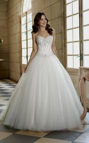 Magnificent Corset Ball Gown Wedding Dresses