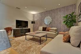 West Elm Tillary Sofa by Contemporary Living Room With Shag Rug U0026 Hardwood Floors In San