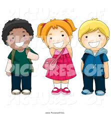 School Kids Smiling Clipart