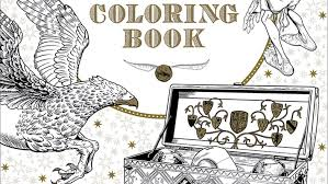 Make Your Own Magic With The First Official Harry Potter Coloring
