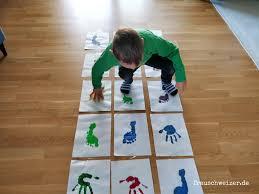 5 minuten diy hüpfspiel für kinder ganz easy selberbasteln