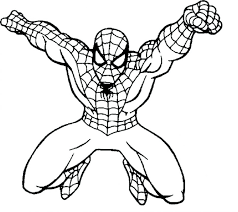 Coloring Pages Lego Spiderman Games Black Colouring Online Play Page