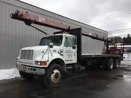 Class 7 Class 8 Heavy Duty Flatbed Trucks For Sale