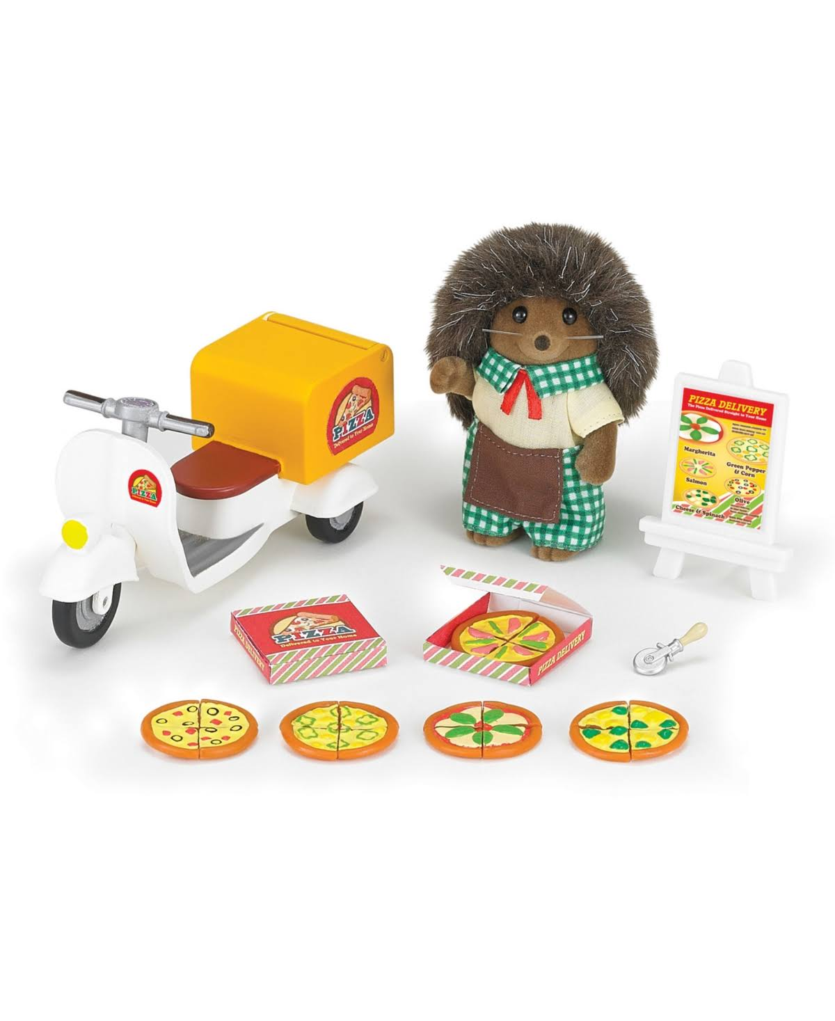 Calico Critters - Pizza Delivery Set
