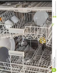 Inside A Dishwasher Stock Image Of Home Load