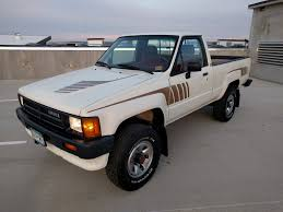 100 Toyota Trucks 4x4 For Sale 1987 Pickup 5Speed For Sale On BaT Auctions Sold For