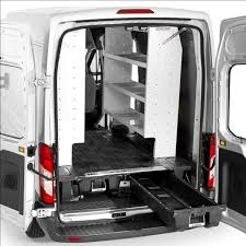 DECKED In-Vehicle Storage System For Ford Transit | U.S. Upfitters