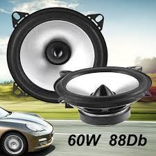 100 Truck Stereo System Qoo10 2 Pcs 4 Inch 12V 60W 88dB Black Car Auto Audio Coaxial