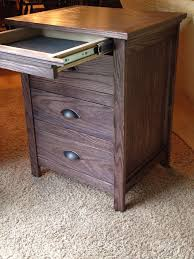 Night Stand With Locking Secret Hidden Drawer 6 Steps with