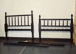 Spindle Headboard And Footboard by Antique Bed Full Size Sacking Bed Headboard Footboard Sausage