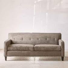 World Market Luxe Sofa Slipcover Charcoal by Charcoal Luxe Three Seat Sofa Canvas Slipcover Collection World