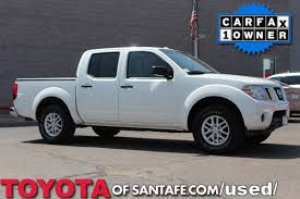 Pre-Owned 2015 Nissan Frontier SV Crew Cab Truck In Santa Fe ...