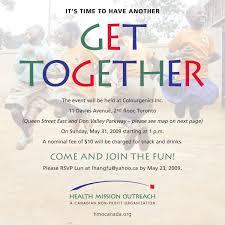 Get Together Invitation Template Free Sponsor Form Template Get