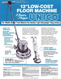 Hild Floor Machine Manual united floor machine co inc sales sheets