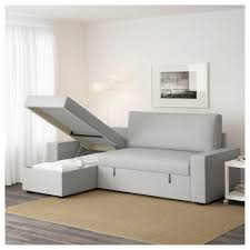 Sleeper Chair Folding Foam Bed Canada by Sofas Awesome Vilasund Sofa With Chaise Longue Ramna Light Grey