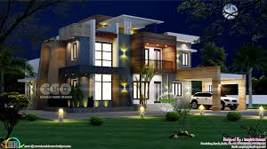 100 Modern House Cost Ultra Modern House Plan With Estimated Construction Cost Kerala