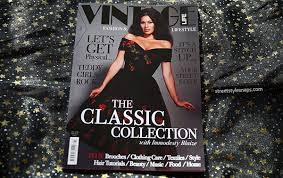 Vintage Life Magazine January 2016 Immodesty Blaize Retro Style Fashion
