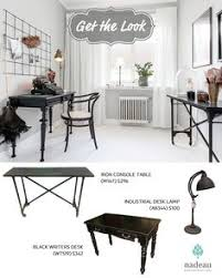 This Rustic look from ElleDecor is easily attainable with Nadeau