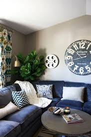 Sectional Living Room Ideas by Best 25 Blue Family Rooms Ideas On Pinterest Blue And White