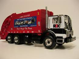100 First Gear Garbage Truck RDK Rear Load Garbage Truck RDK Rea Flickr