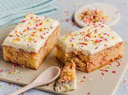 konfetti kuchen einfacher blechkuchen