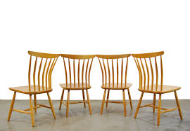 100 Birch Dining Chairs Scandinavian Vintage Dining Chairs By Akerblom 1950s 92642